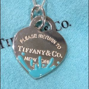 Tiffany & Co. Silver Heart Necklace